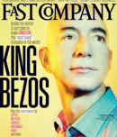Fast Company issue cover